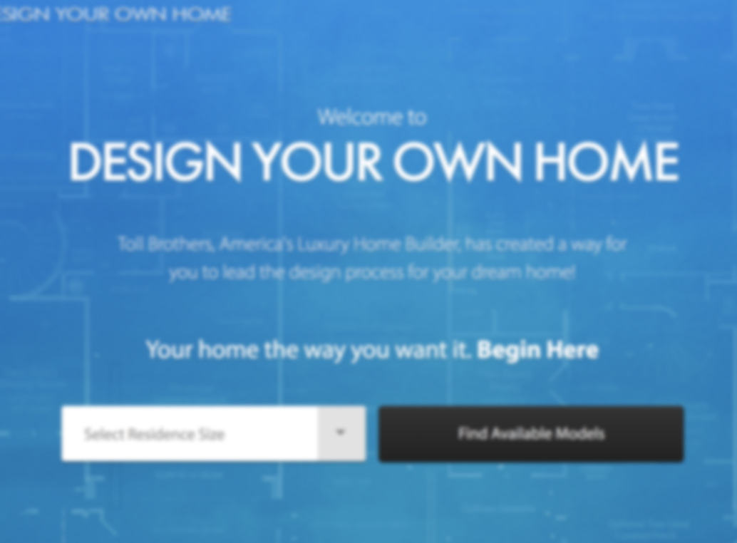 Design Your Own Home iPad/Desktop Tool